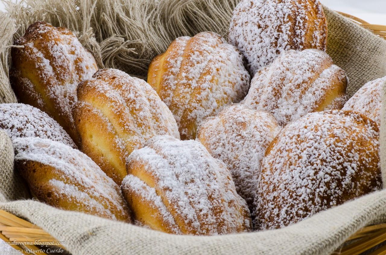 Ven a la Cocina: Madeleines o magdalenas de concha